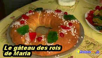 Gateau des rois de provence recette